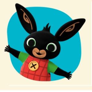 Bing cartone animato bambini età prescolare rai yoyo - cartoni - coniglio