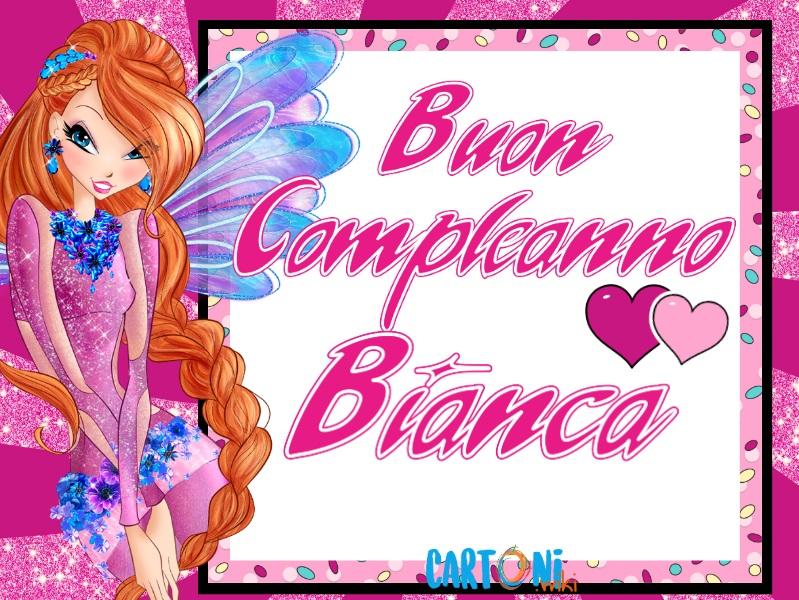 Buon compleanno Bianca - Cartoni animati
