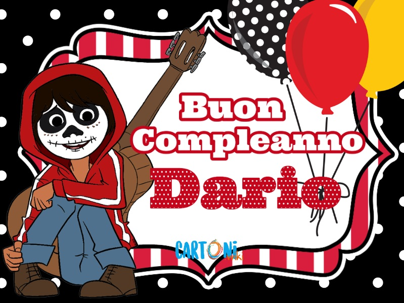 Buon compleanno Dario - Cartoni animati