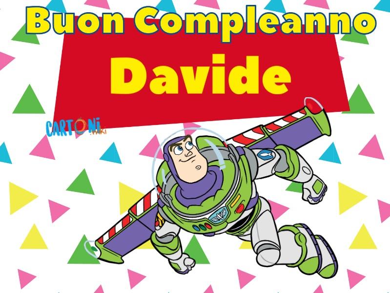 Buon compleanno Davide - Cartoni animati