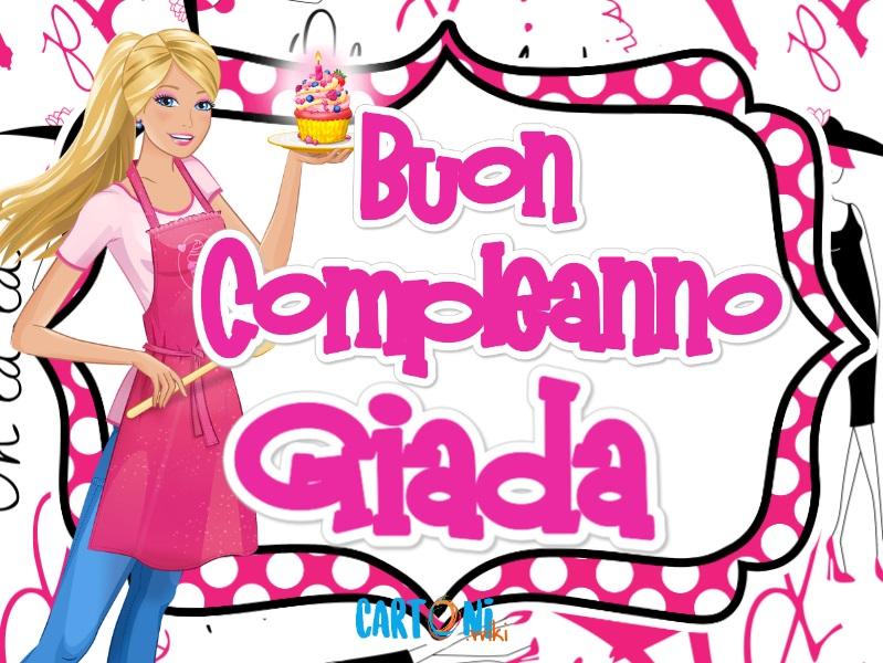 Buon compleanno Giada - Cartoni animati