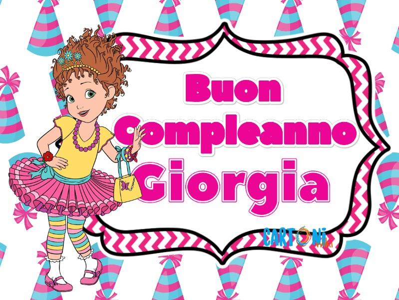Giorgia Buon Compleanno Cartoni Animati