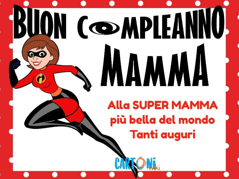 Buon compleanno Mamma - Cartoni animati