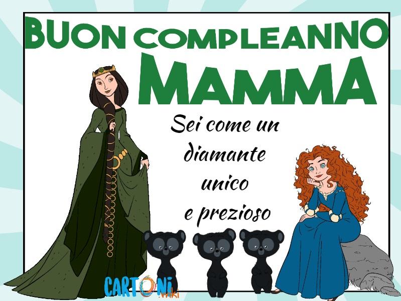 Buon compleanno Mamma sei come un diamante - Buon compleanno