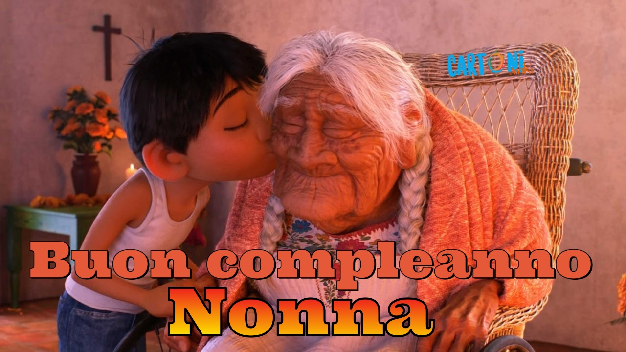Buon compleanno nonna - Cartoni animati