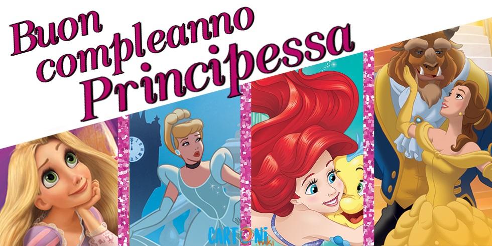 Buon compleanno Principessa - Cartoni animati