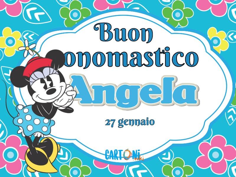 Buon onomastico Angela 27 gennaio - Buon onomastico