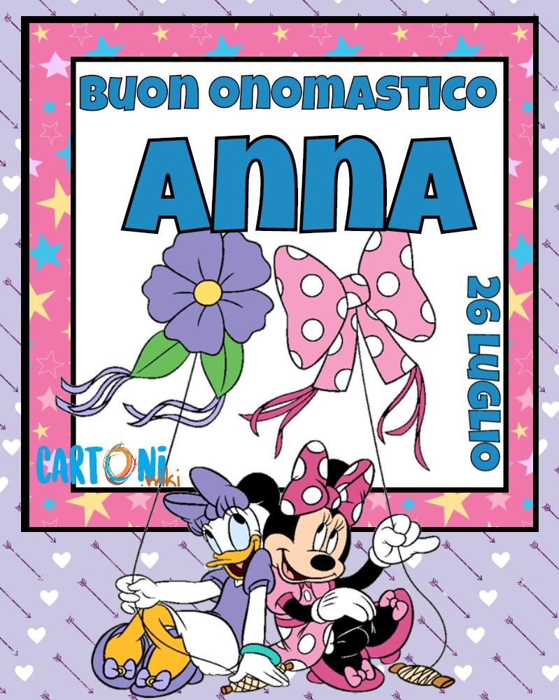 Buon onomastico Anna