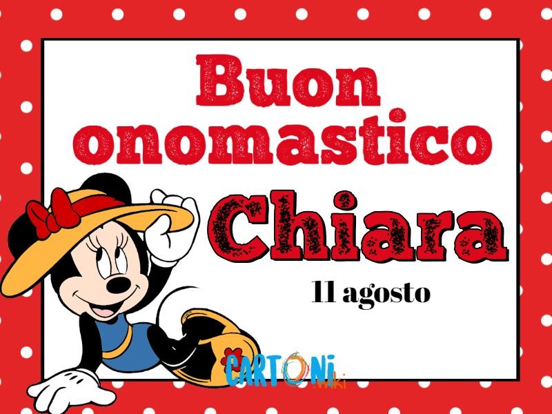 Buon Onomastico Chiara - Buon onomastico