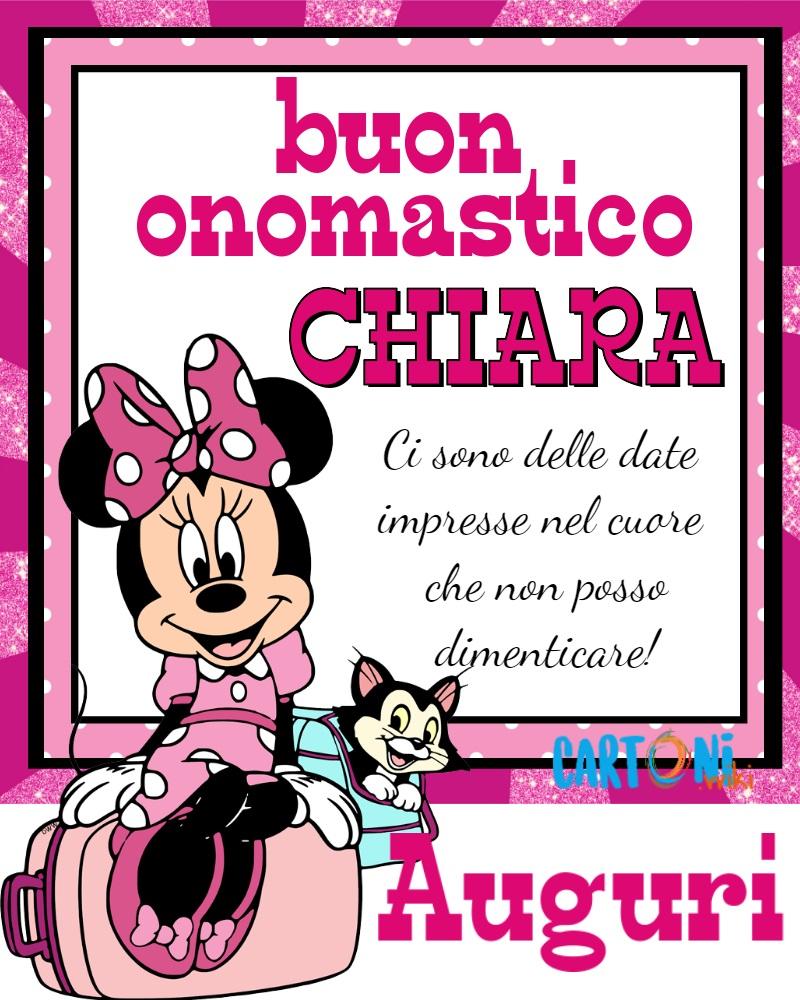 Auguri Buon onomastico Chiara - Buon onomastico