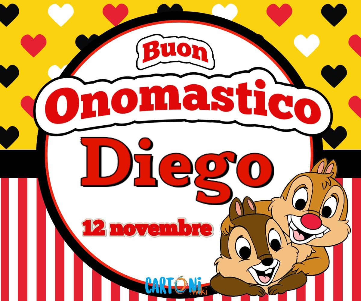 Auguri di Buon onomastico Diego - Buon onomastico