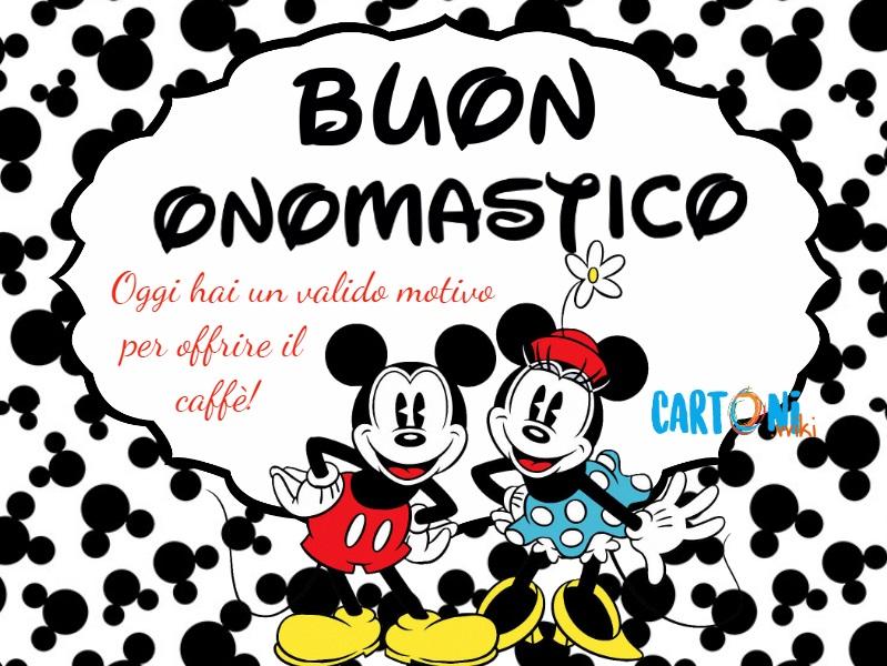 Buon onomastico Disney - Cartoni animati