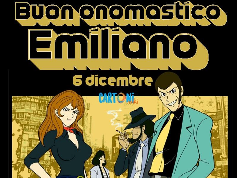 Buon onomastico Emiliano 6 dicembre - Buon onomastico