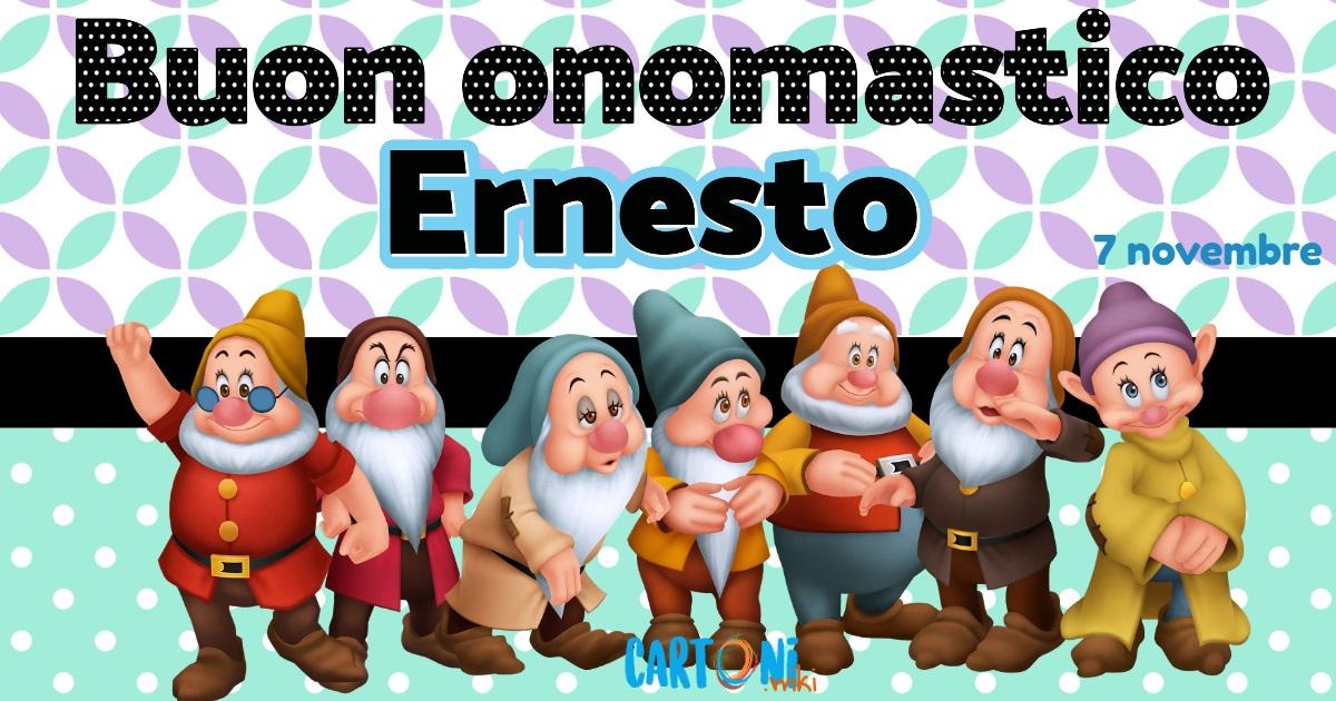 Auguri di Buon onomastico Ernesto - Buon onomastico