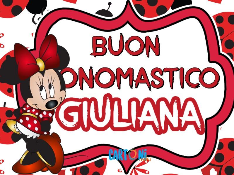 Buon onomastico Giuliana - Buon onomastico