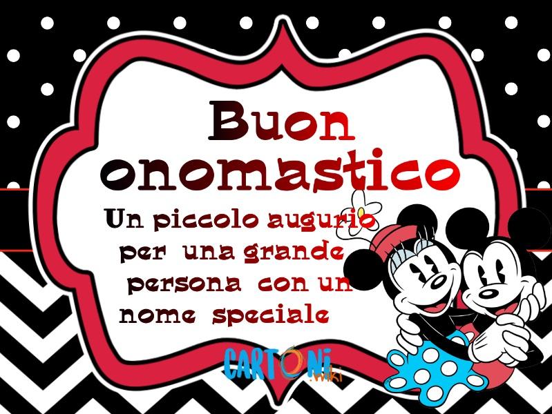 Immagini buon onomastico per whatsapp - Cartoni animati