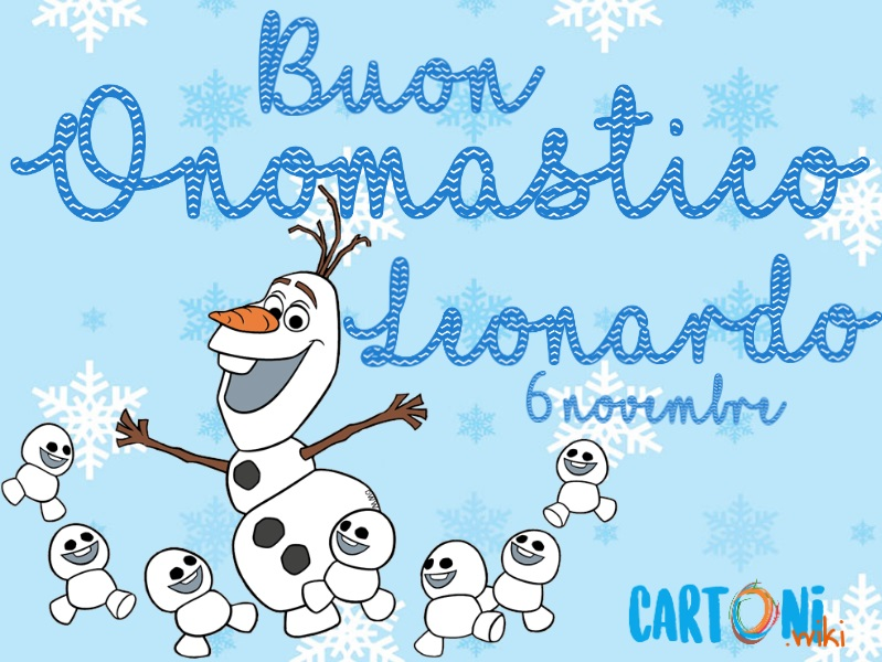 Tanti auguri di Buon onomastico Leonardo - Buon onomastico