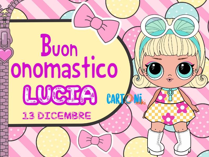 Onomastico Lucia 13 dicembre - Buon onomastico