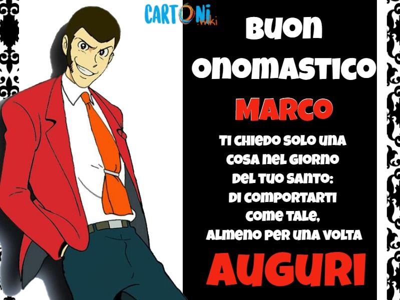 Marco Buon onomastico - Buon onomastico