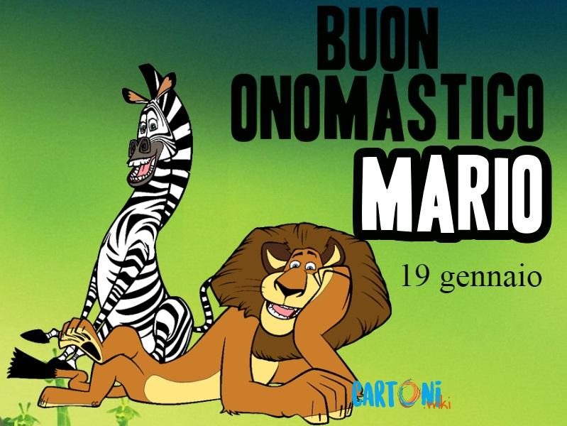 Buon onomastico Mario auguri - Buon onomastico