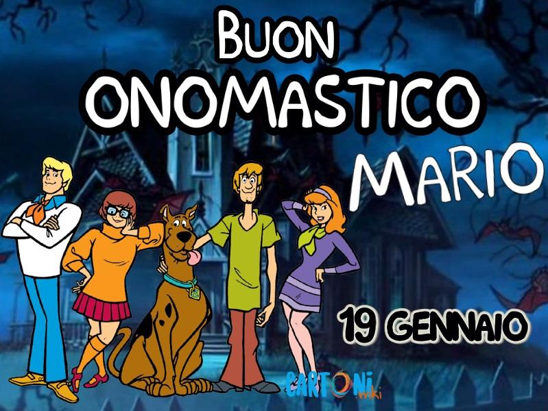 Buon onomastico Mario 19 gennaio - Buon onomastico