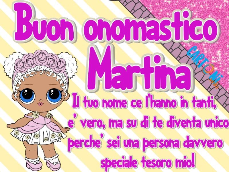 Buon onomastico Martina con le Lol Surprise! - Buon onomastico