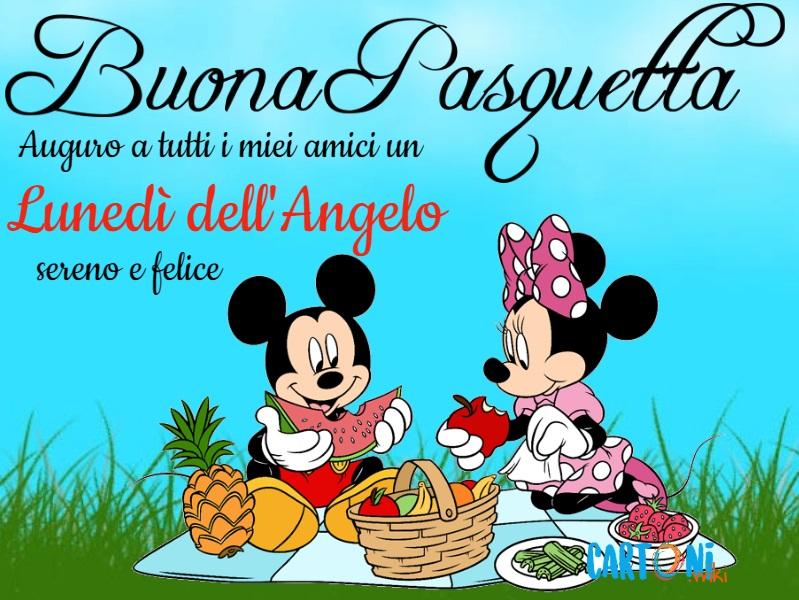 Buona Pasquetta auguro a tutti i miei amici