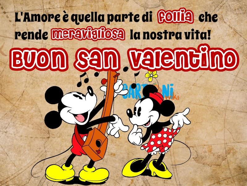 Buon San Valentino con Minni e Topolino - San Valentino