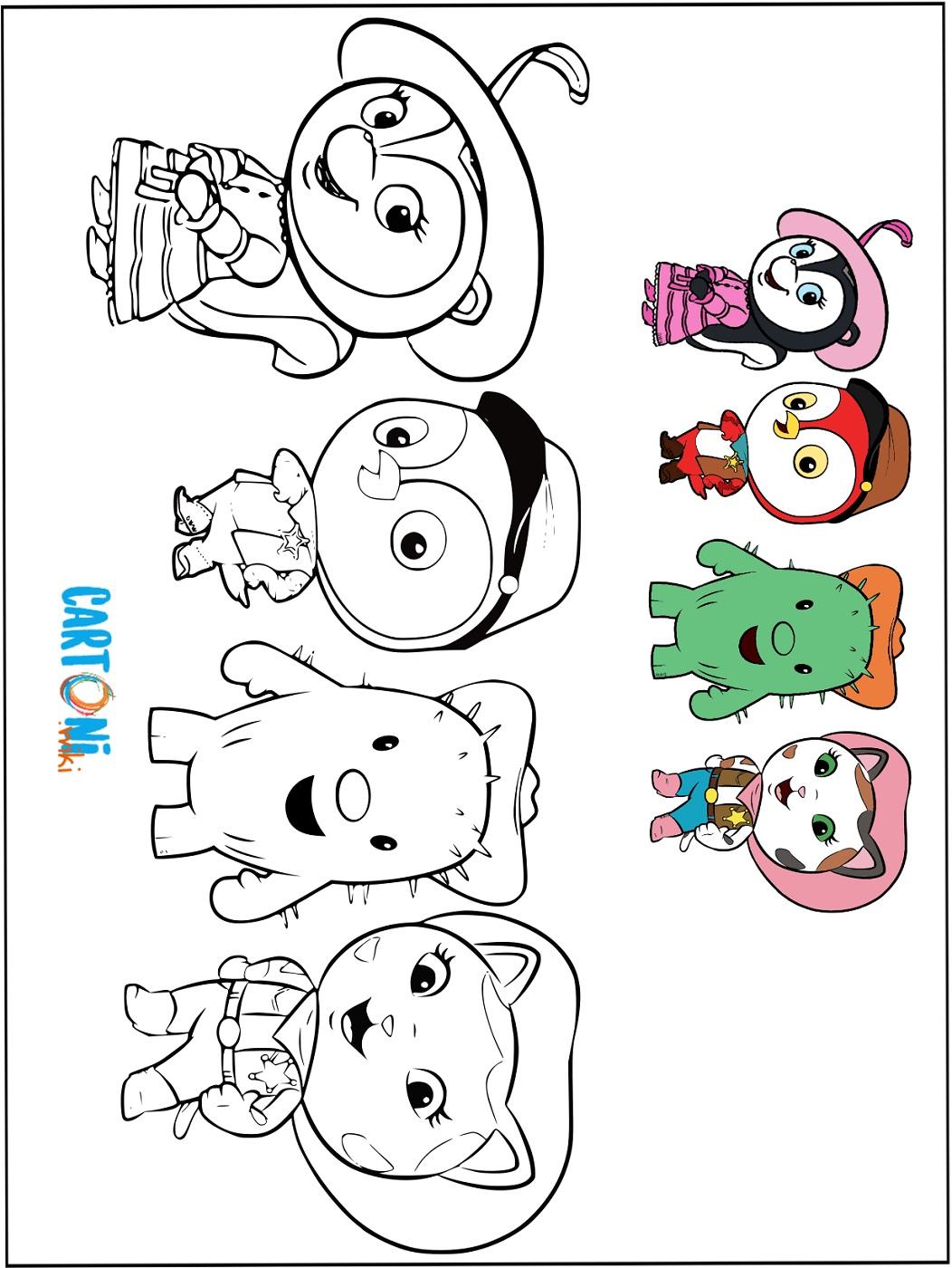 Callie sceriffa del West disegni da colorare - Stampa e colora
