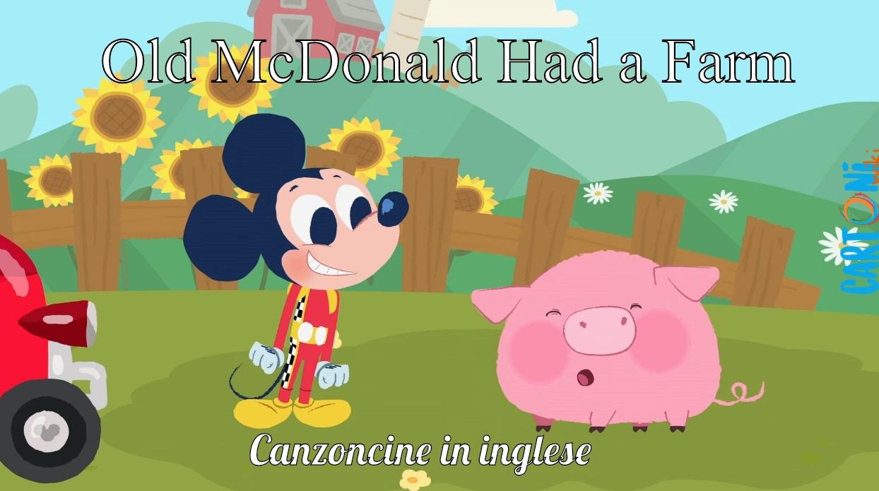Old MacDonald Had a Farm - Cartoni animati