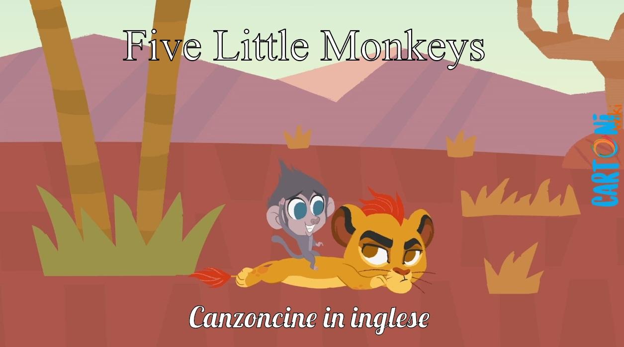 Five Little Monkeys - Cartoni animati