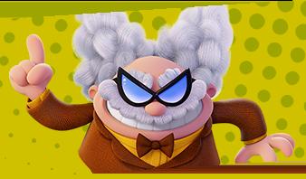 Capitan Mutanda film d'animazione personaggio Professor Pannolino