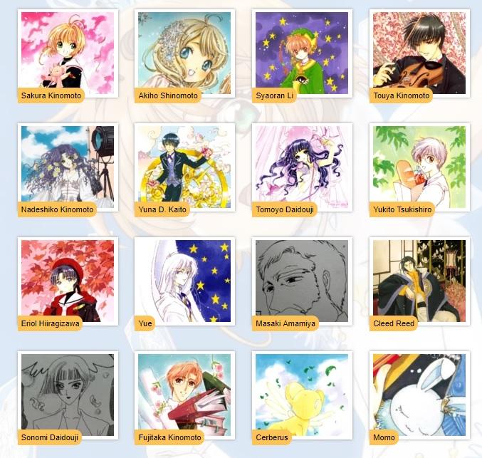 cardcapture sakura personaggi Sakura Kinomoto Akiho Shinomoto Syaoran Li