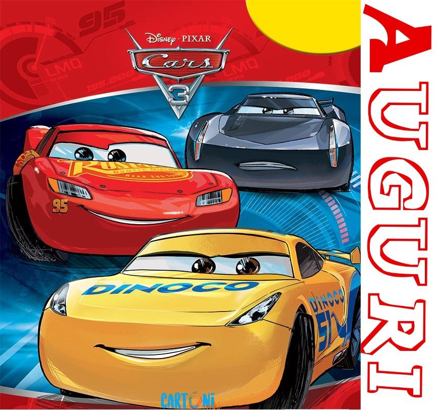 Auguri con Cars 3 - Auguri