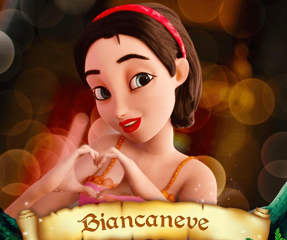 Biancaneve Snow White Domitilla D'Amico Personaggi C'era una volta il principe azzurro Charming film di animazione 28 febbraio 2019