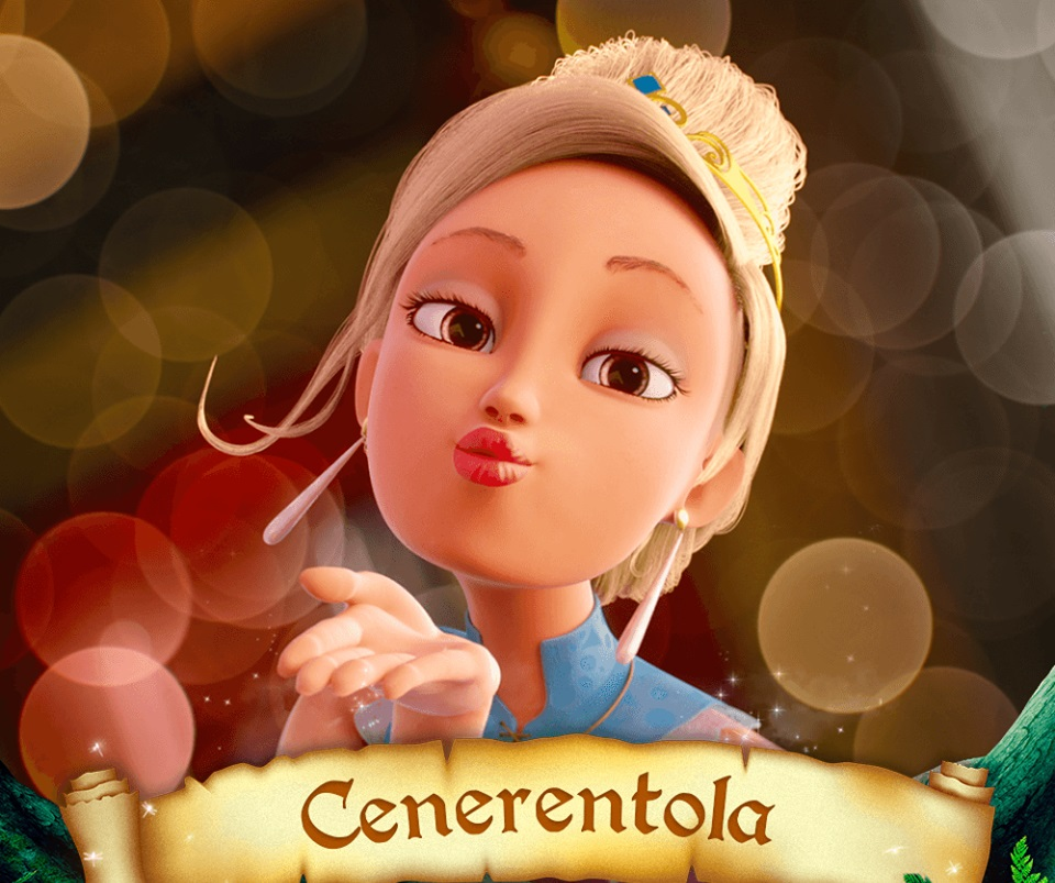 Cenerentola Personaggi Elisa Toffoli C'era una volta il principe azzurro Charming film di animazione 28 febbraio 2019