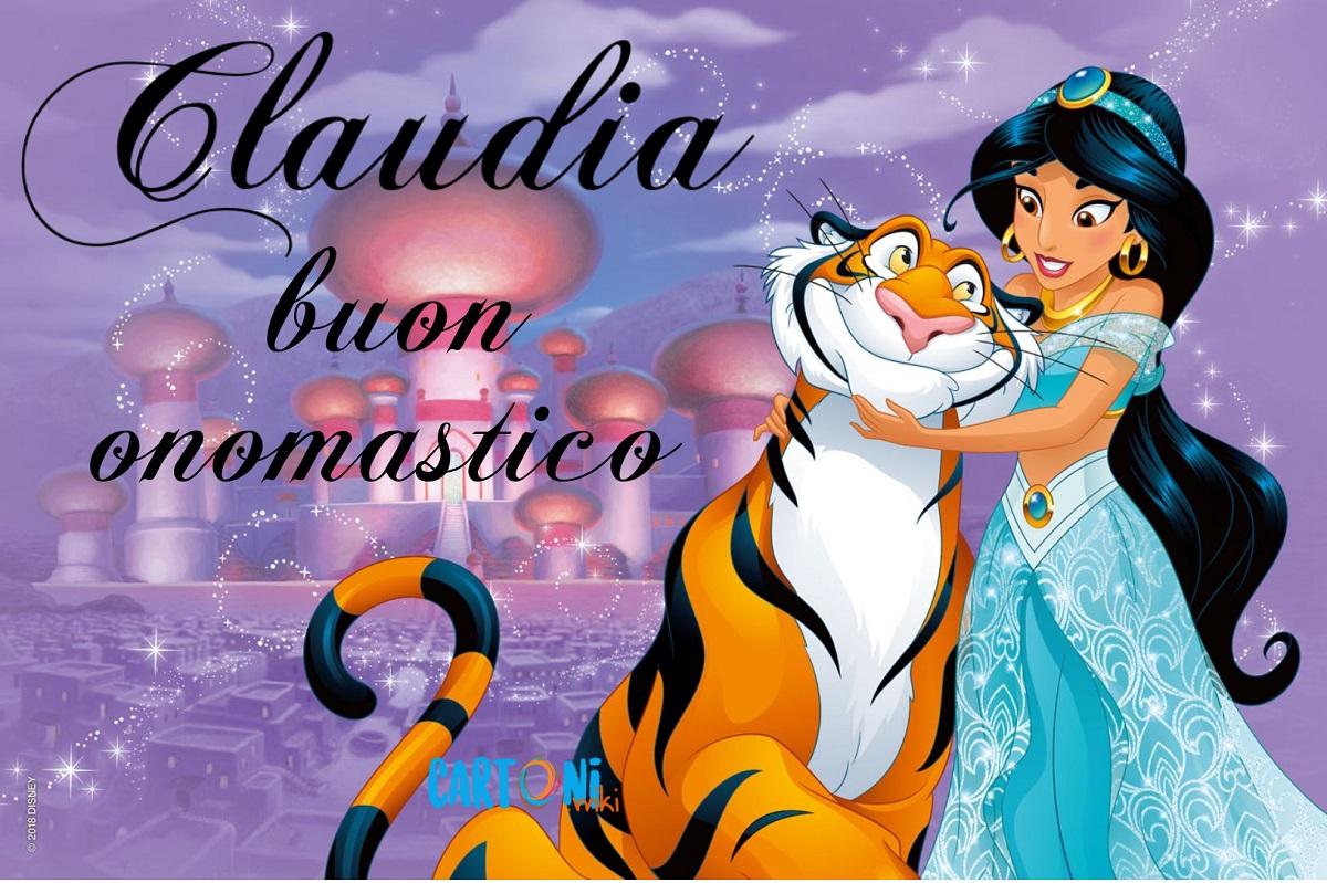 Cluadia buon onomastico - Claudia