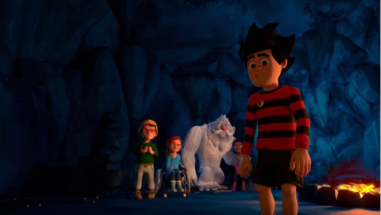 Dennis and Gnasher scatenati - Dennis the Menace e Gnasher - cartoni animati - personaggi - sigla video - rai gulp