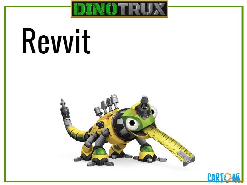 Dinotrux Revvit characters cartoni animati personaggi canali tv bambini netflix super
