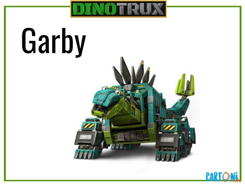 Dinotrux Garby characters cartoni animati personaggi canali tv bambini netflix super