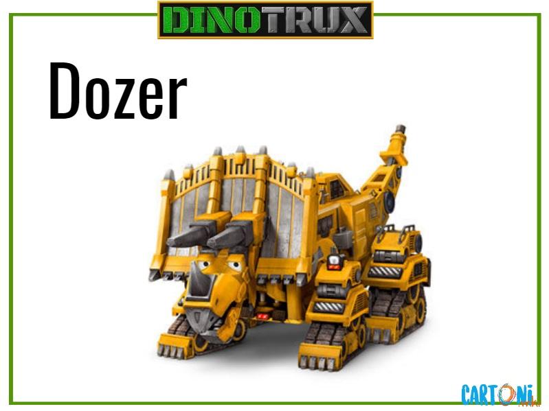 Dinotrux Dozer characters cartoni animati personaggi canali tv bambini netflix super