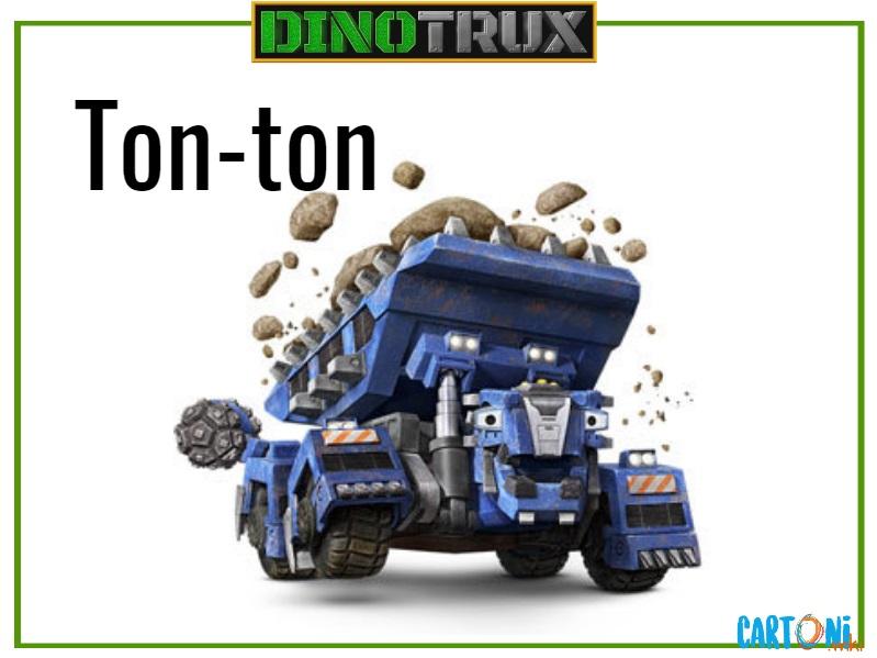 Dinotrux ton-ton characters cartoni animati personaggi canali tv bambini netflix super