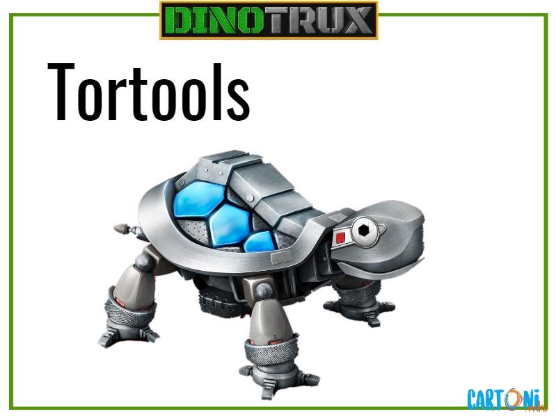 Dinotrux Tortools characters cartoni animati personaggi canali tv bambini netflix super