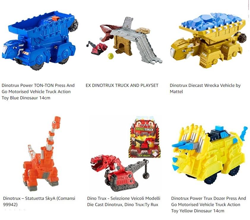 Dinotrux giocattoli per bambini offerte promozioni