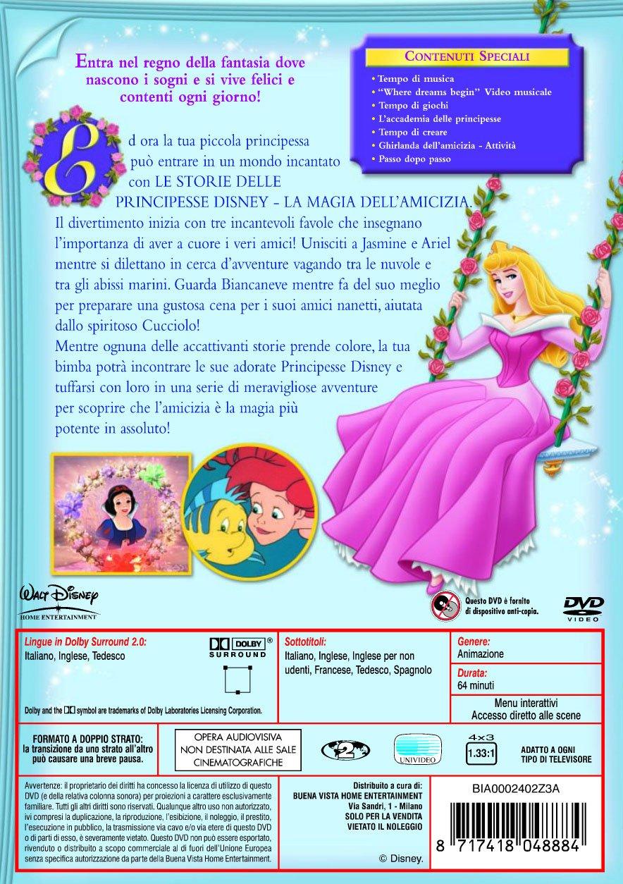 Principesse Disney film cartoni animati Storie di Principesse vol.2 cover dvd film di animazione Disney Home Video