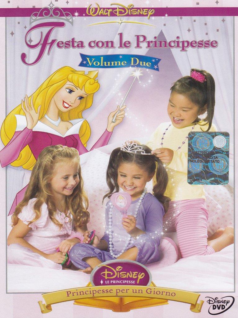 Festa con le principesse principesse per un giorno Vol. 2 - Cartoni animati