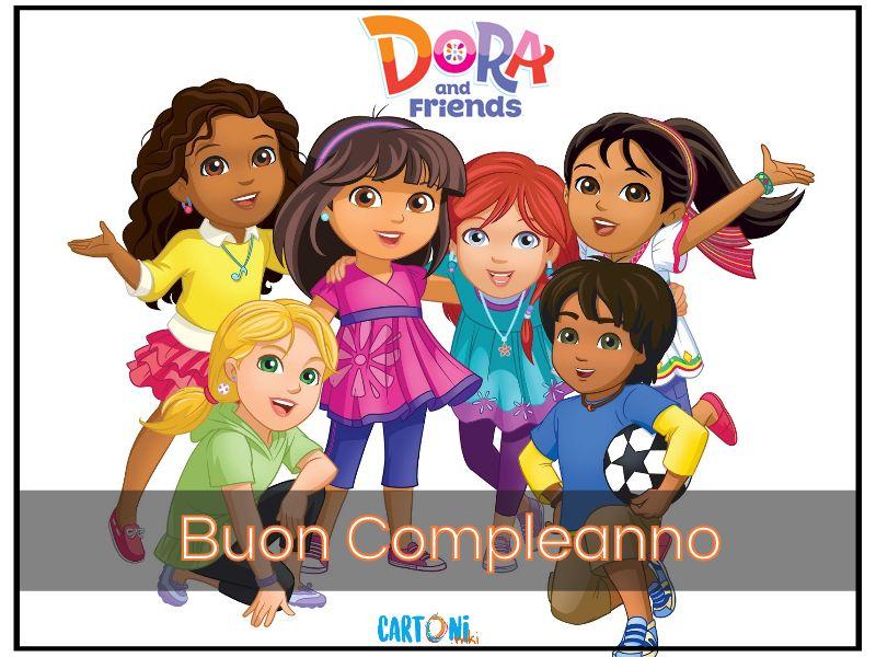 Buon Compleanno da tutti i tuoi amici - Cartoni animati