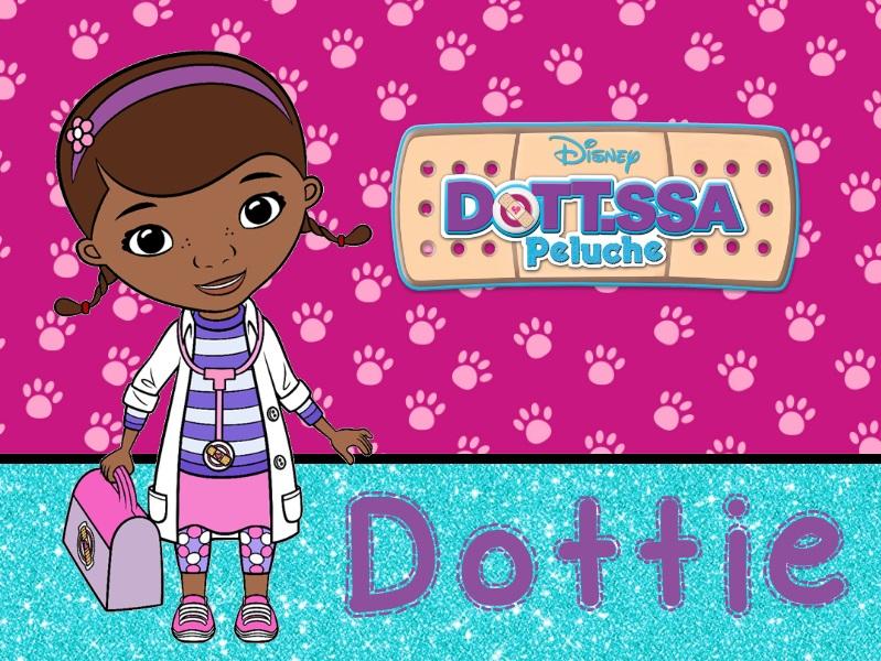 Dottoressa Peluche personaggi characters doc mcstuffins Dottie cartone animato cartoni animati Disney Junior