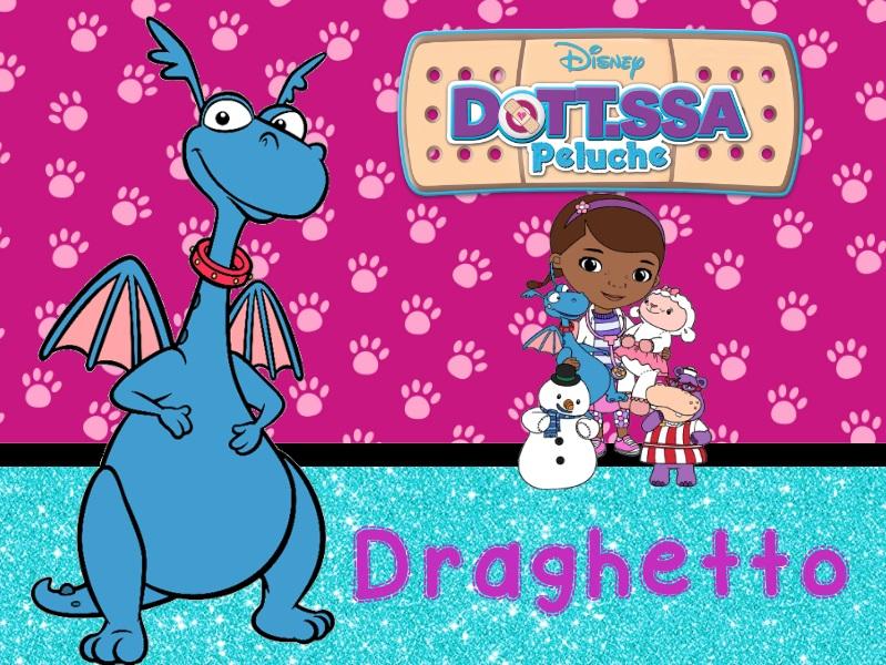 Draghetto giocattolo drago Dottoressa Peluche personaggi characters doc mcstuffins Dottie cartone animato cartoni animati Disney Junior