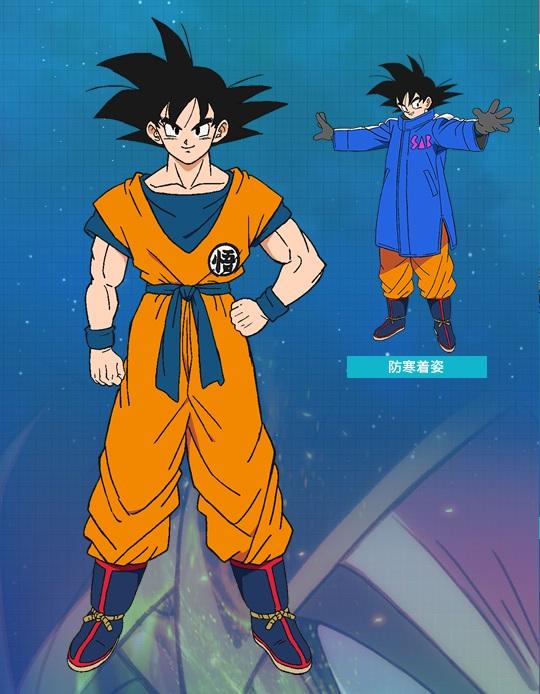 Goku Dragon Ball Broly personaggi film di aniamzione 2019 febbraio anime cartoni animati giapponesi Dragon ball